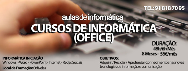 Cursos Office Low Cost Odivelas